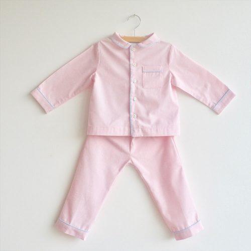Pyjama Audrey (vichy bleu)