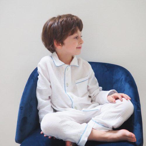Pyjama Alexandre – Bleu Mer