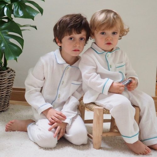 Pyjama Alexandre – Vert emeraude