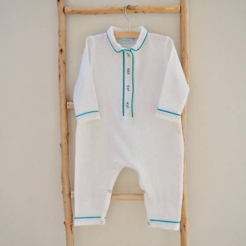 Pyjama Alexandre – Dors bien -Vert émeraude