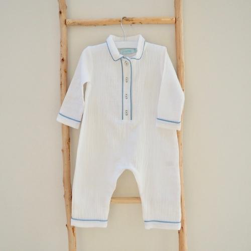 Pyjama Alexandre – Dors bien – Bleu mer