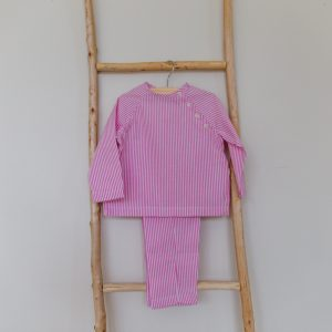 Pyjama Rafaël - rose fushia
